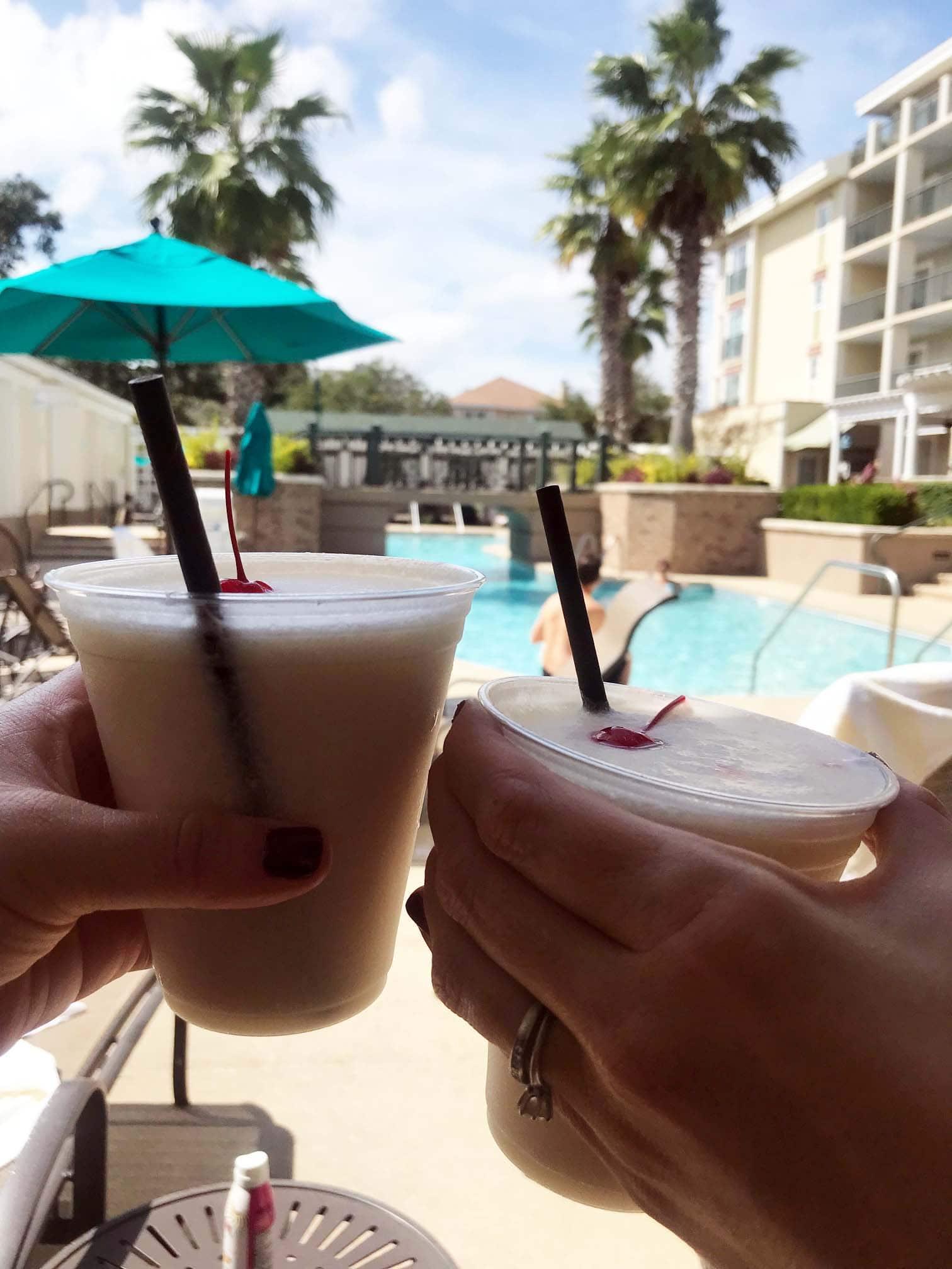 Wild Dunes Poolside Drinks