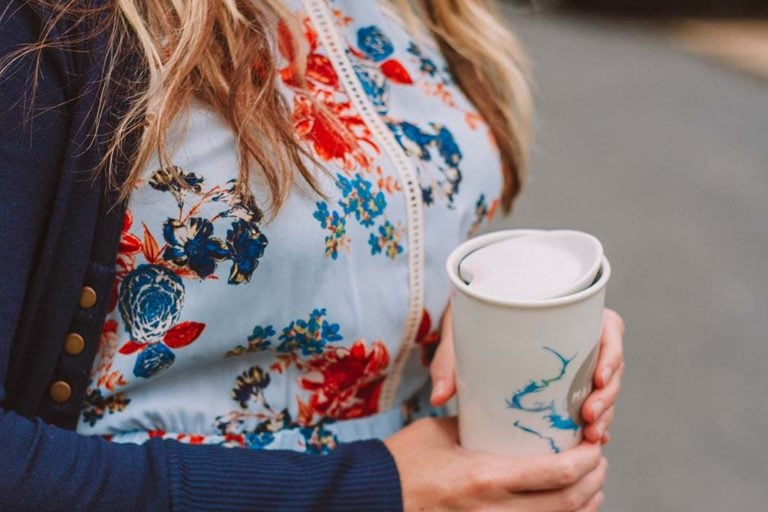 How to Style a Fall Floral Dress