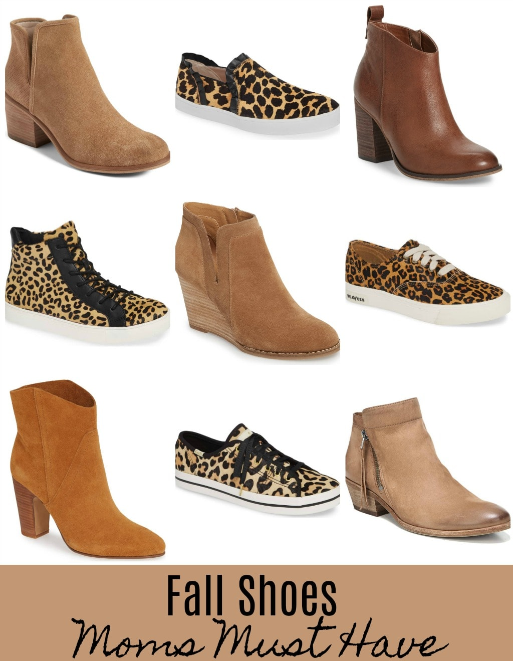 fall shoes moms must have