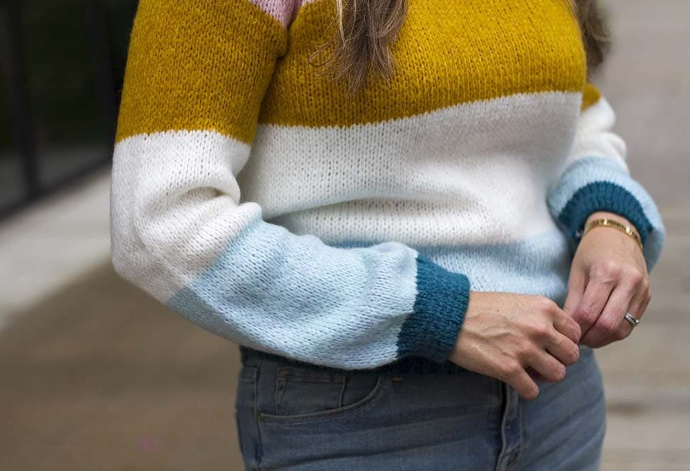 Striped Sweater Perfect for Gifting