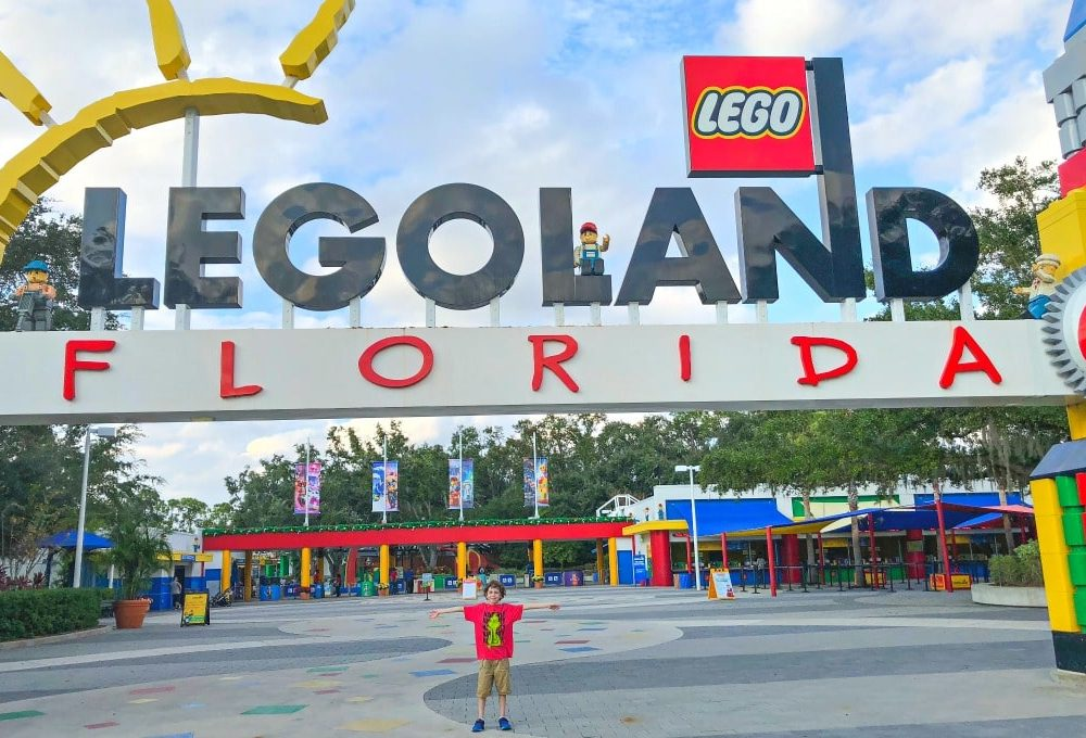 legoland florida at the holidays