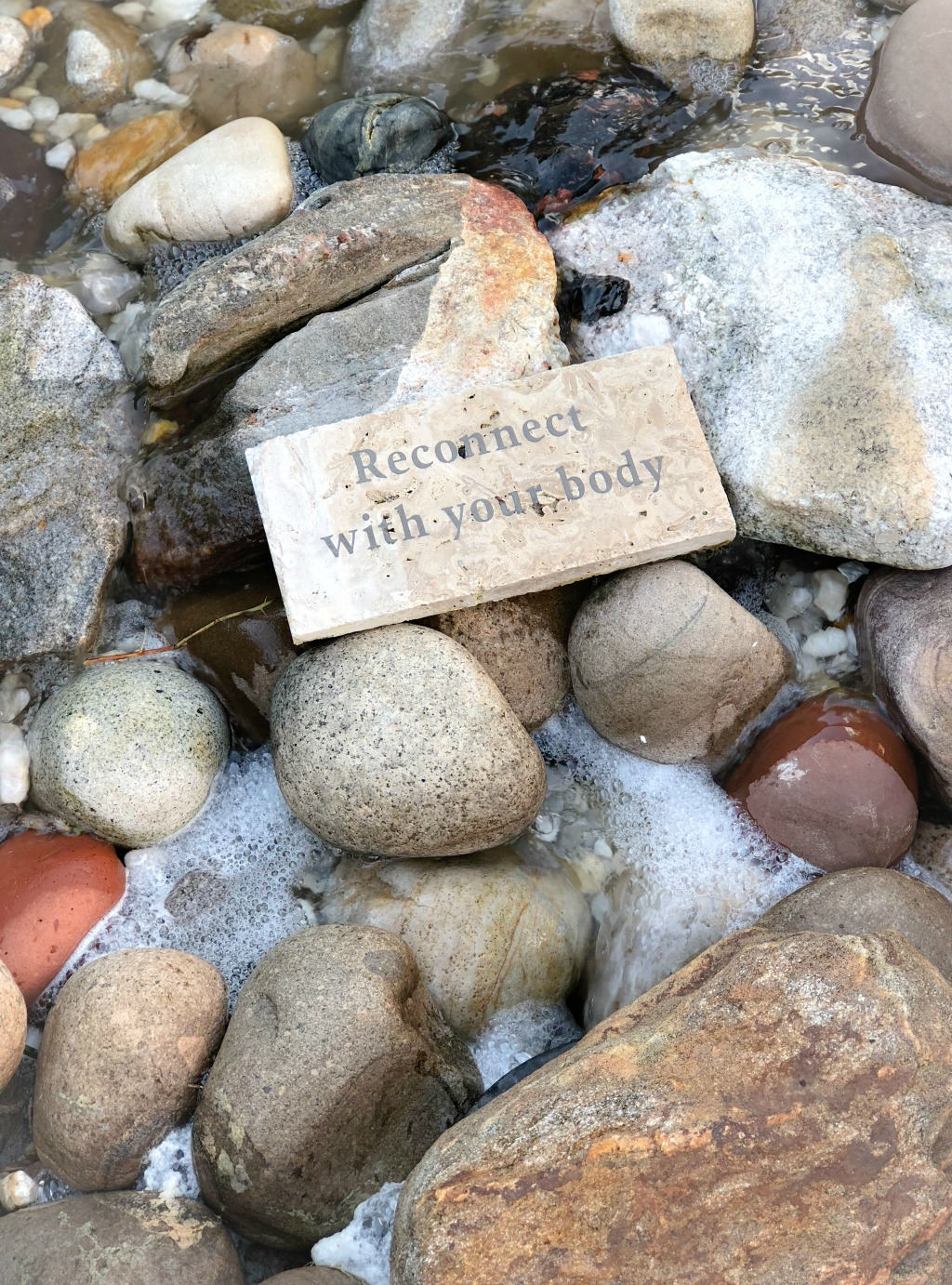 meditation rocks at Innisbrook spa