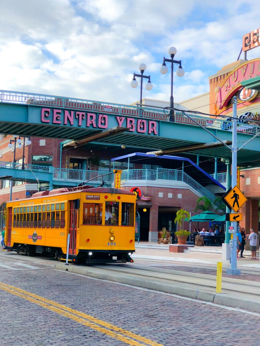 ybor city trolley car