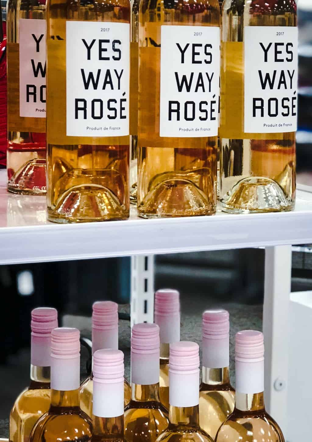 yes way rose wine at target