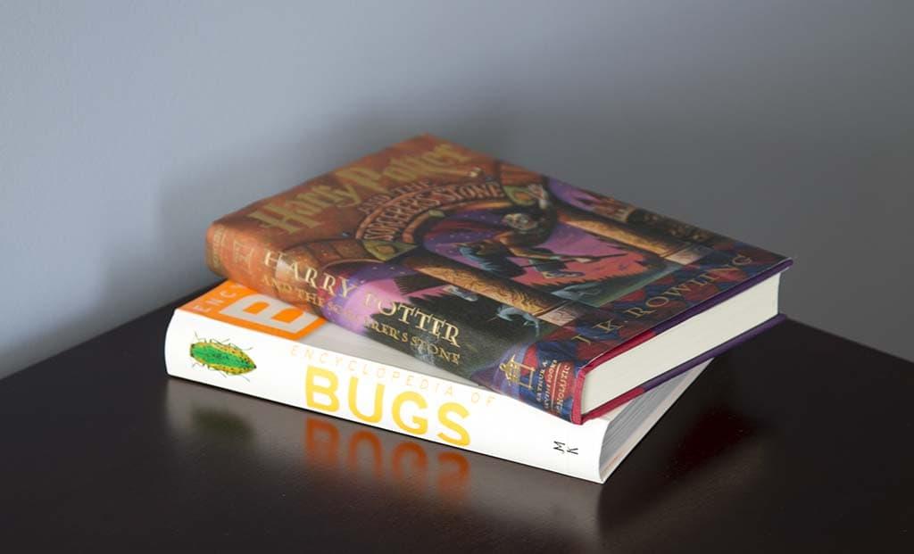 Boys Books on Dresser