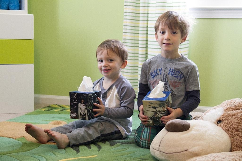 Bright Green Kids Room