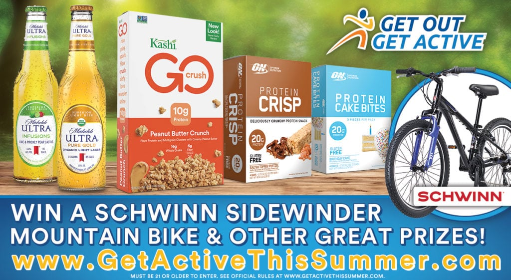 get out and get active sweepstakes banner