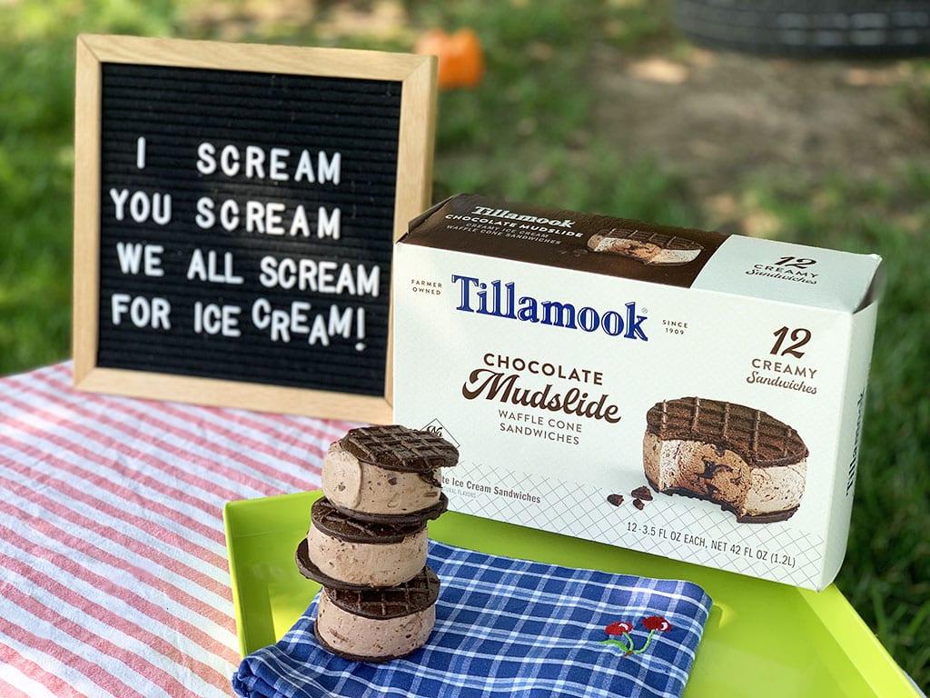 Tillamook Ice Cream Sign