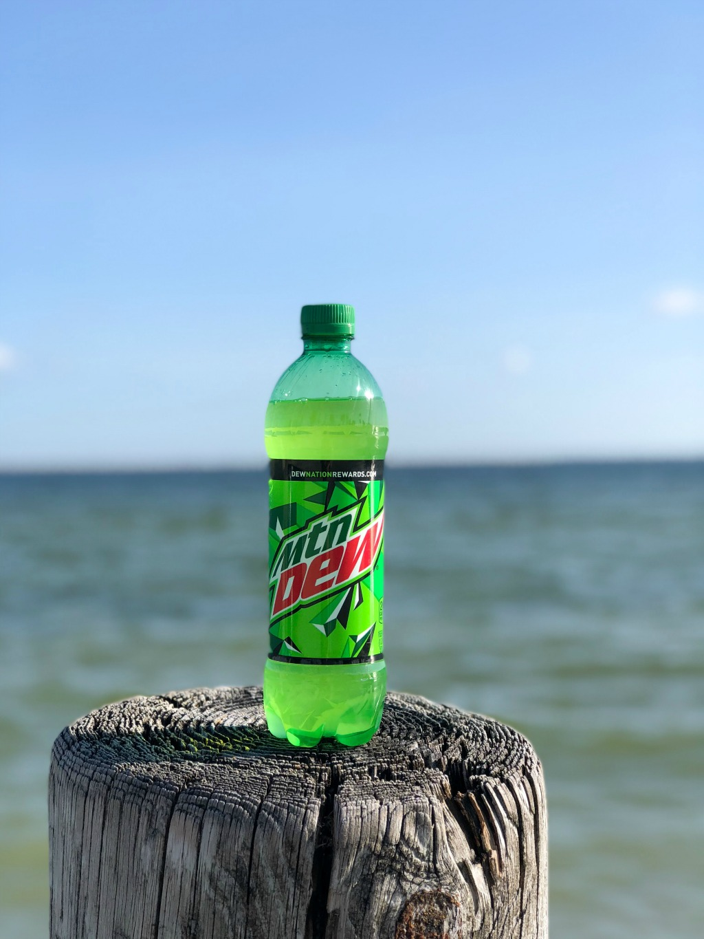 mountain dew by the water