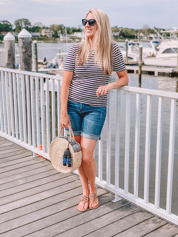 Basic Nautical Summer Look