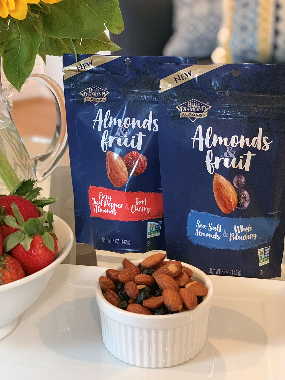 Blue Diamond Almonds & Fruit Entertaining Tray