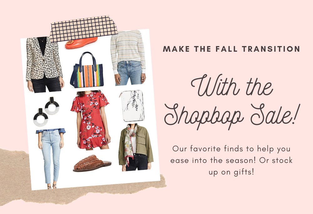 Shopbop Fall 2019 Sale