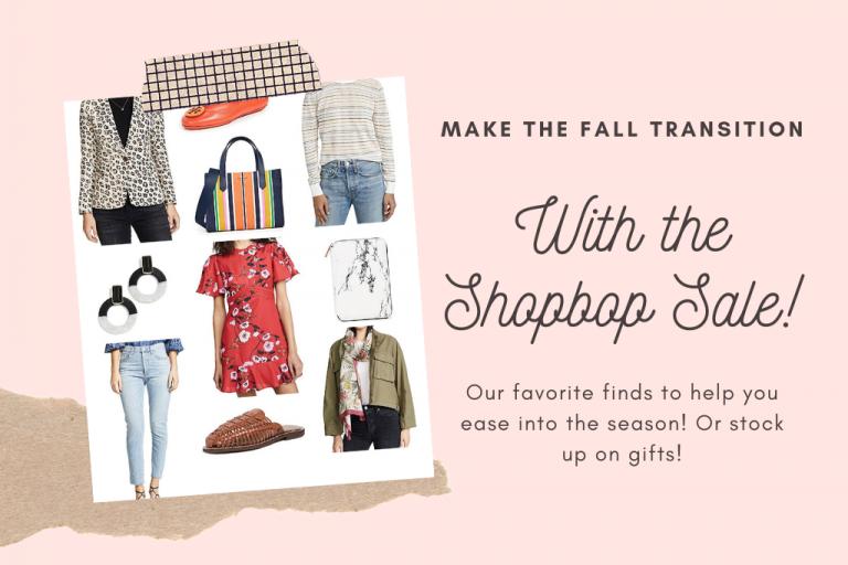 Shopbop Fall 2019 Sale Favorites