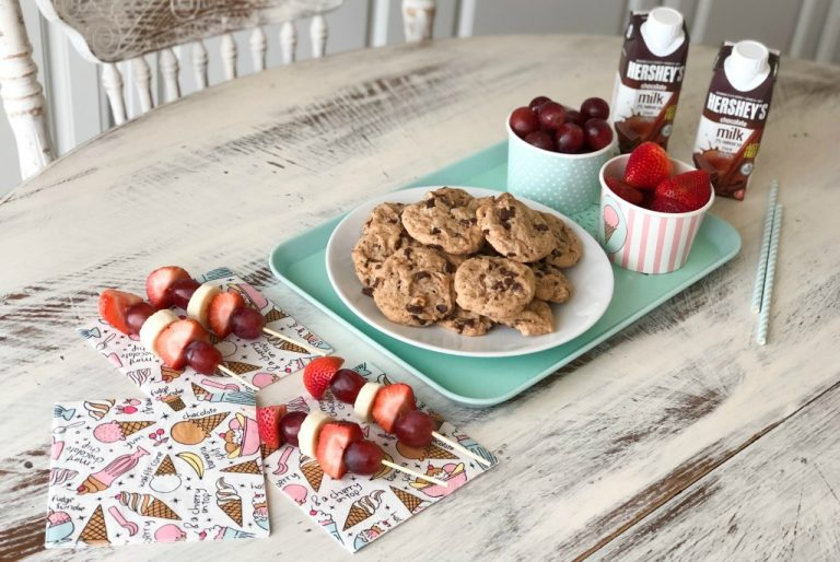 Welcome Home from School Snack Station with Hershey's® Shelf Stable Milk