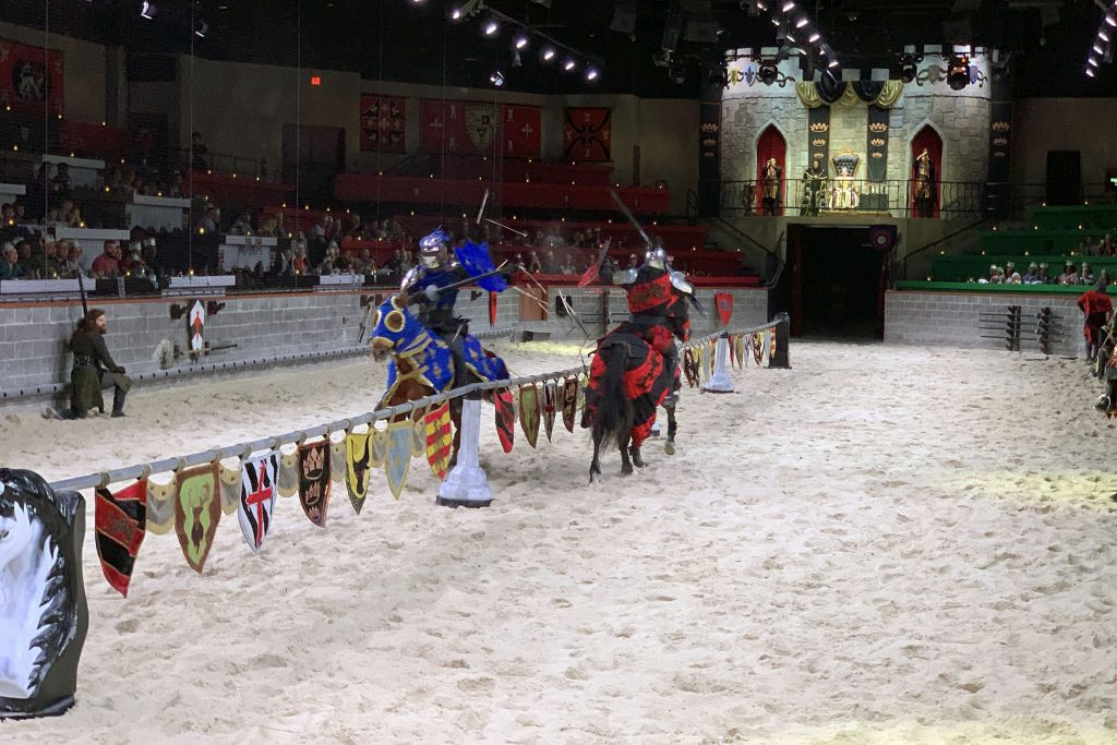 Jousting at Medieval Times