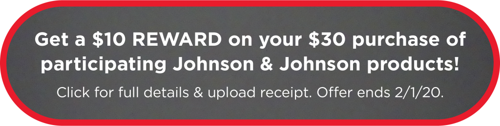Johnson & Jonhson reward button