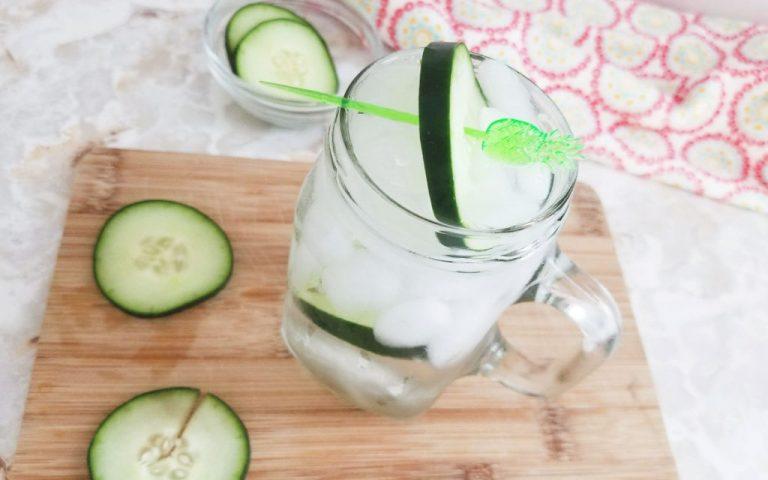 Refreshing Cucumber Melon Cooler Recipe