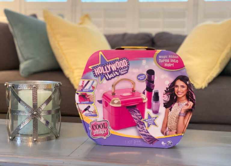 Hot Holiday Gift for Tweens: Hollywood Hair Extension Maker