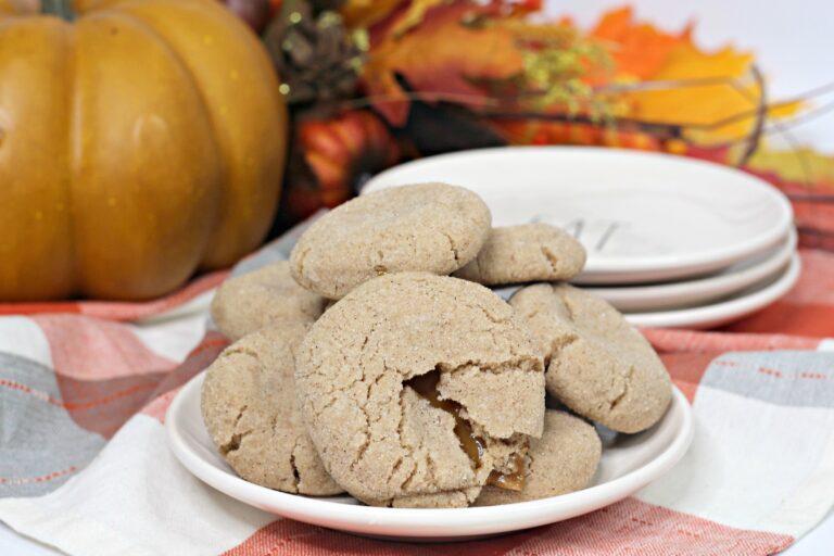 Salted Caramel Snickerdoodle Cookies Recipe