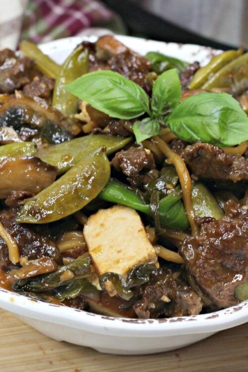 Instant Pot Thai Steak Dinner Recipe